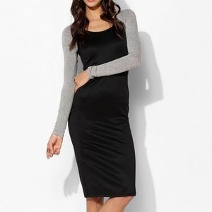 Sparkle & Fade UO long sleeve raglan dress